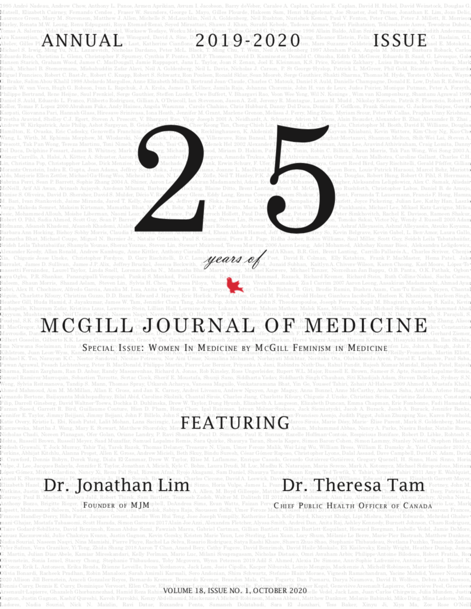 25 years of McGill Journal of Medicine