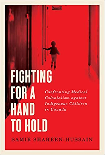 Book cover, Fighting For a Hand to Hold